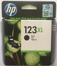HP 123XL High Yield Black Original Ink Original Cartridge (F6V19AE) Brand NEW