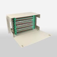 "19"" 96 core Optical Fiber Distribution Frame FC ODF Port Rack Fiber Patch Pane"