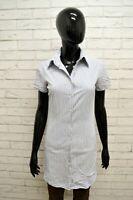 Vestito CONVERSE Donna Taglia Size S Vestitino Abito Dress Woman Cotone a Righe