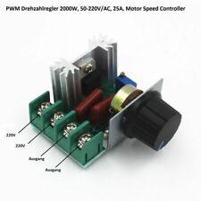 220V 2000W Speed Controller SCR Voltage Regulator Dimmer Dimmer Thermostat