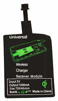 Universal Qi Wireless Charger Kabellos Ladegerät Receiver Empfänger Micro USB