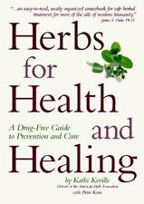 Herbs For Health And Healing: A Drug-Free Guide to Prevention and Cure-ExLibrary