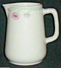 "Churchill Creamer Sampsonite England Hotel Ware Pink Floral 4"" Vtg"