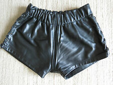 RoB black leather short  size min 73 cm max 93 cm  Bluf - Gay!