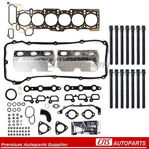 Head Gasket Set Bolts Fit 01-06 BMW 325i 530i X3 X5 Z4 2.5 & 3.0 DOHC 24V M54