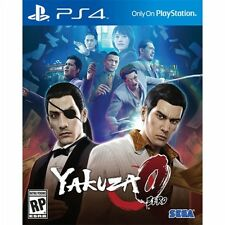PS4 Yakuza Zero 0 The Business Edition NEW Sealed REGION FREE USA standard game