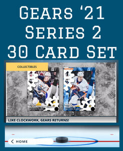 GEARS SERIES 2 SET-30 CARDS-TEAM COLOR+BASE-TOPPS SKATE 21 DIGITAL