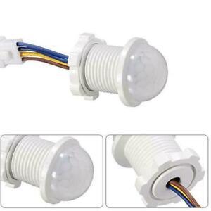 110V 220V LED PIR Infrared Motion Sensor Detection Auto Sensor Light Switch