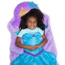 Kids Plush Animal Slumber Sleeping Bag Soft Cozy Faux Fur Beautiful Princess