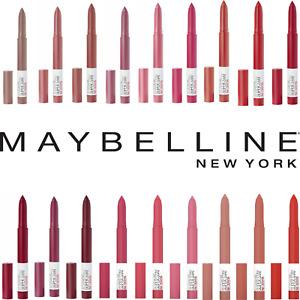 MAYBELLINE SuperStay Ink Matte Crayon Lipstick