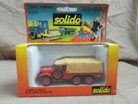 SOLIDO 2105 DODGE POMPIERS  IN ORIGINAL DISPLAY BOX.  VINTAGE SHOP STOCK.