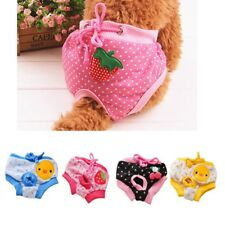 New Pet Dog Physiological Pants Washable Diaper Panties Underwear for Female Dog