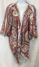 Hermes Komono Robe Print Silk Les Chemins Secrets Dolman Sleeves