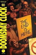 DOOMSDAY CLOCK #1 GEOFF JOHNS GARY FRANK DC 1ST PRINT 22/11/17 NM