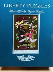 LIBERTY CLASSIC WOODEN Jigsaw PUZZLE Dry Martini Yulia Drobova 533 Pc COMPLETE
