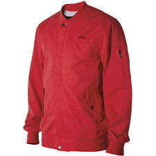 Nixon Dean Jacket - Men's Small S Red Bomber Coat - Snowboard Skateboard Surf