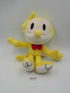 "Felix the cat B2307 Yellow Banpresto 1998 Plush 6"" Stuffed Toy Doll Japan"