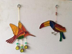 Toucan & Humming Bird (2) Sun Catcher (22)
