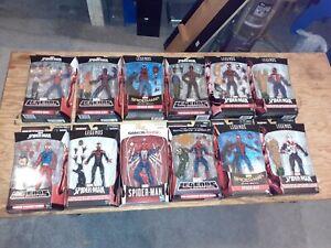 Marvel Legends Spiderman 2099 Gamestop UK Scarlet Miles Homecoming Lot New