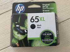 New Genuine HP 65XL  Black Ink Cartridge High Yield OEM Exp 01/2023 (N9K04AN)