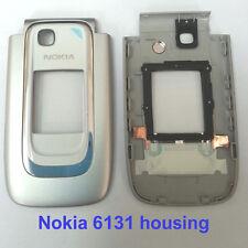 100% Genuine New Nokia 6131 Front Fascia Housing with Screen Lens panel - White