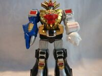 Power Rangers Wild Force Megazord 2002 Retro Bandai Figure with untested sounds
