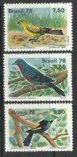 Sellos de Centroamérica y Sudamérica, pájaros