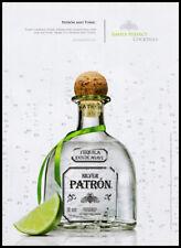 Patron Tequila print ad 2015 Patron & Tonic