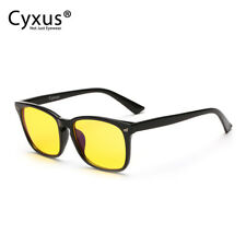 Cyxus Yellow Tints Lenses  Blue Light Blocking Computer Glasses Anti Eyestrain