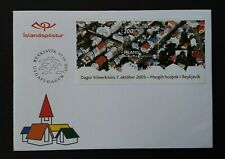 Iceland 2005 M/S 1121 Stamp Day FDC