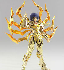 Figurines collection, série en métal saint seiya pour jouet d'anime et manga