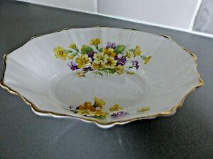 Vintage Royal Albert Bone China Dish / Bowl / Pin Dish, Primulette Pattern c1940