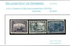 BELGIUM OCC' OF GERMANY. 1920 OVERPRINTED 'EUPEN' MINT.