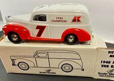 ERTL NASCAR ALAN KULWICKI DIECAST 1940 FORD TRUCK 1/24 SCALE COLLECTIBLE BANK