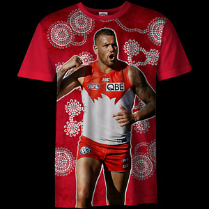 NEW Official Sydney Swans Mens Player Tee - Lance `Buddy` Franklin