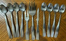 Hampton Silversmiths BRISTOL Stainless Spoons Forks Knife Lot of 11