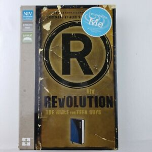 NIV, Revolution: The Bible for Teen Guys, Leathersoft, Blue/Charcoal: Updated Ed
