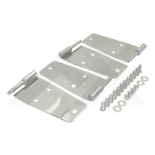 Door Hinges Stainless Jeep CJ 76-86 Wrangler 1987-1995 Rough Trail RT34008