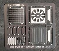 DETAIL SET ATHEARN BLUEBOX READY TO ROLL SW1000/1500 HO SCALE KV MODELS KV-113H