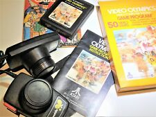 Video Olympics Complete Atari 2600 Video Game System with Paddles