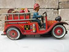 Very Old Metal Fire Truck Lot 246