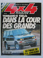 4X4 MAGAZINE N° 177 / TERRANO II 125 cv / VITARA JLX D CAB / SSANGYONG MUSSO 602