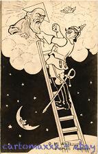 WW1 WWI Propaganda - Kaiser - Luna Moon Lune - Umoristica Satirica - KV218