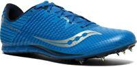 Saucony Mens Vendetta 2 Blue US 8 Spiked Lightweight Track & Field Running Shoe