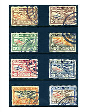 New listing Thailand C1-8 Museum overprint variety, cancelled