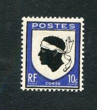 Timbre FRANCE neuf TB** YT n° 755 - Armoiries de Provinces : CORSE - 1946