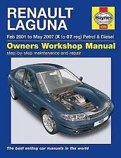 Renault Laguna Petrol and Diesel Owners Workshop Manual 2001-2005 by Haynes...