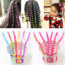 6PCS Kids Girls Pigtail Hair Styling Hair Device Headband Hairband Accessories