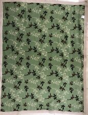 """Leaf Sherpa Plush Throw Blanket Fleece Bed Sofa Couch Lap Robe Large 48"""" x 63"""""""