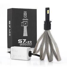 2pcs H1 10000LM 100W S7 LED Car Headlight Headlamp Kit Bulb Hi/Low White 6000K